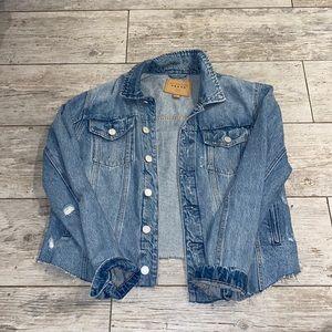 BLANKNYC x Revolve Cropped Denim Jacket
